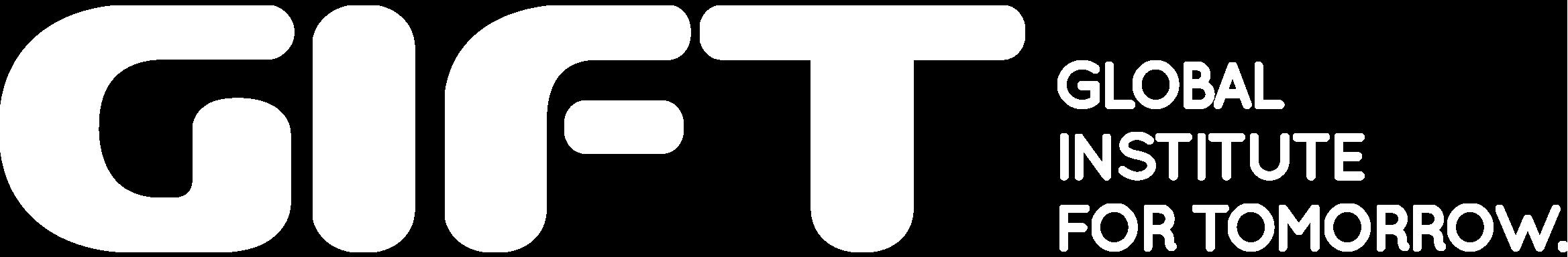 Global Institute For Tomorrow (GIFT)_White logo